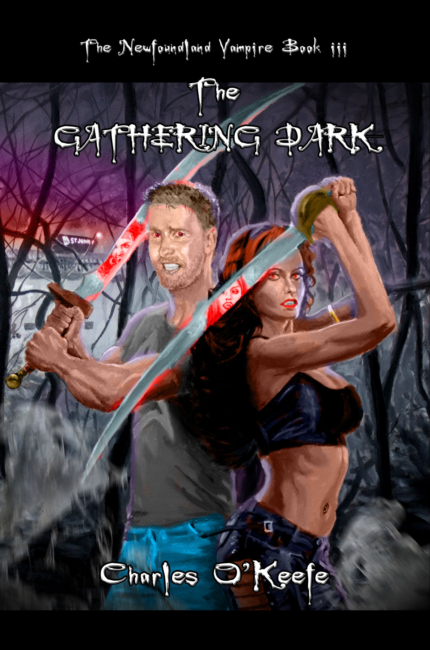 THE NEWFOUNDLAND VAMPIRE – BOOK III: THE GATHERING DARK